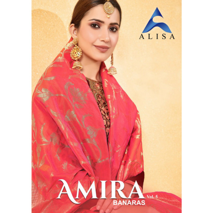 Alisa Amira Vol 5 Salwar Suits Expoter From India