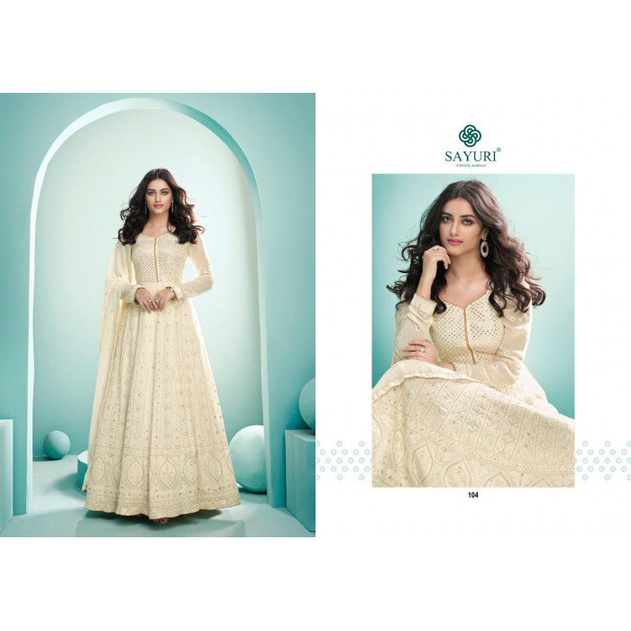 Aashirwad Breeze Nx Real Georgette Heavy Gowns