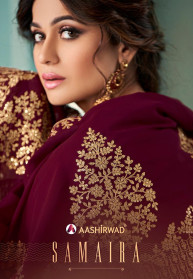 Aashirwad Samaira Real Georgette Branded Gowns