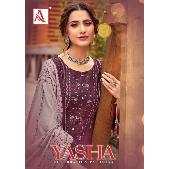 Alok Yasha Viscose Pashmina Dress Materials