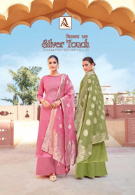 Alok Silver Touch Pure Jam Cotton Salwar Suits