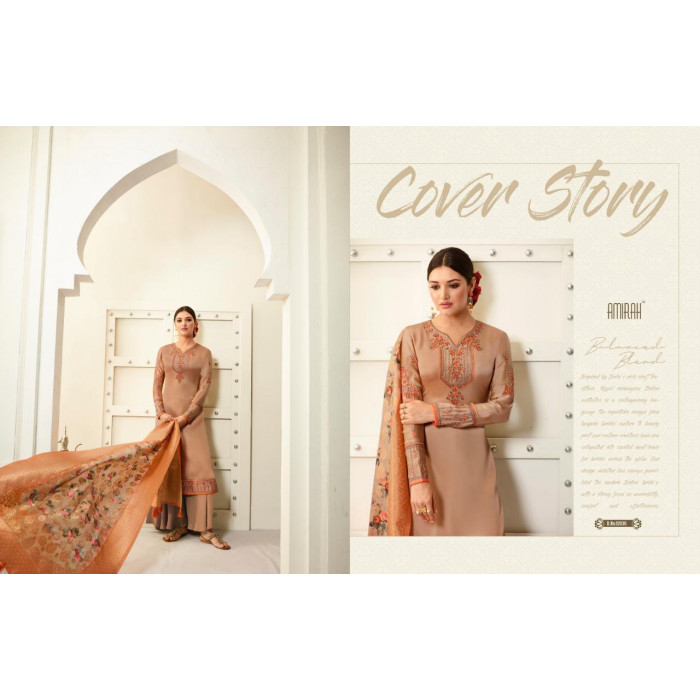 Amirah Vol 30 Satin Georgette Salwar Suits