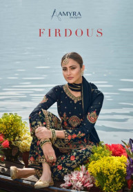 Amyra Firdous Heavy Georgette Work Salwar Suits