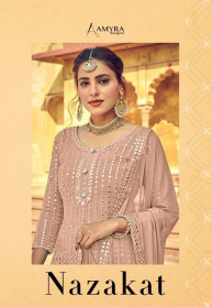 Amyra Nazakat Heavy Georgette Rich Salwar Suits
