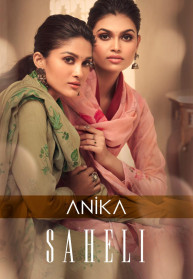 Anika Saheli Lawn Cotton Salwar Suits Catalog
