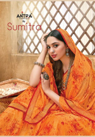 Antra Sumitra Georgette Fancy Sarees Catalog