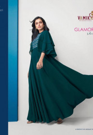 Arihant Nx Vamika Glamore Georgette Latest Gowns