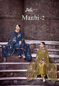 Bela Maahi Vol 2 Viscose Muslin Salwar Suits