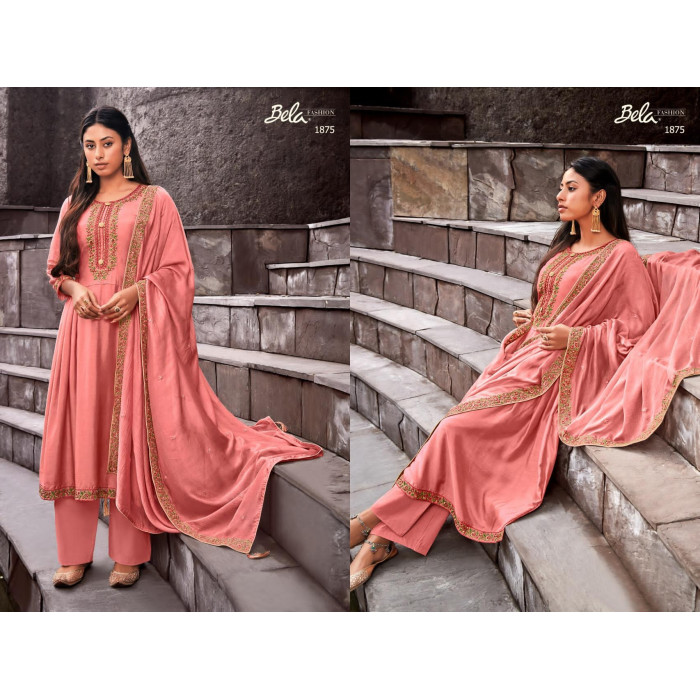 Bela Ziba Cotton Silk New Coming Salwar Suits