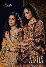 Belliza Aisha Vol 3 Pure Pashmina Salwar Suits