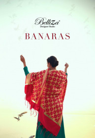 Belliza Banaras Jam Cotton Heavy Dress Materials