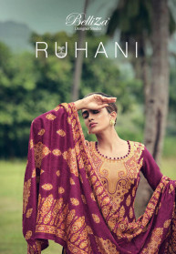 Belliza Ruhani Vol 3 Woolen Dress Materials