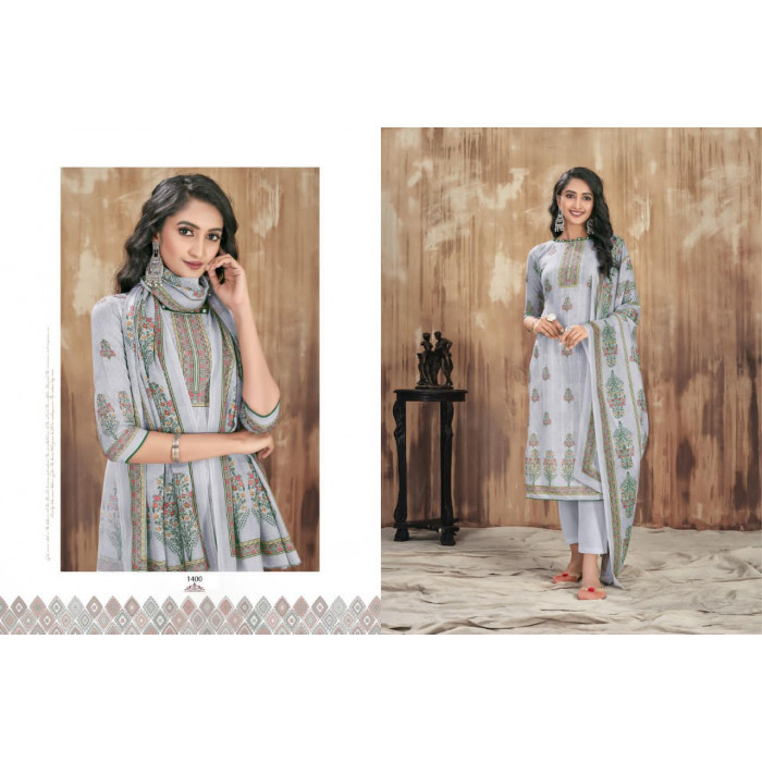 Bipson Nazakat Vol 2 Cotton Lawn Dress Materials