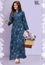 Blue Hills Walkway Vol 7 Nx 14KG Rayon Long Gowns