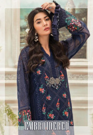 Deepsy Embroidered Georgette Salwar Suits