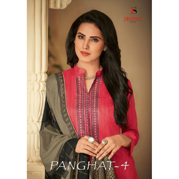 Deepsy Panghat Vol 4 Dress Materials Collection