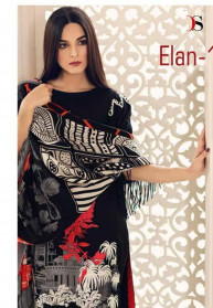 Deepsy  Elan Vol 11 Satin Silk Salwar Suits