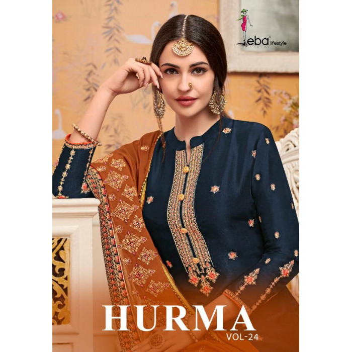 Eba Hurma Vol 24 Pure Viscose Salwar Suits