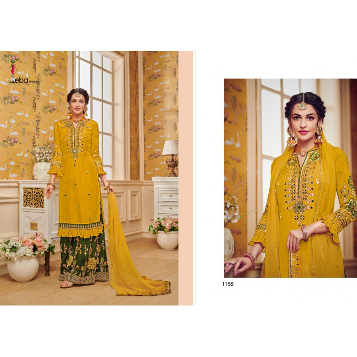 Eba Hurma Vol 29 Georgette Salwar Suits