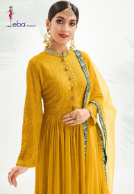 Eba Classic Vol 1 Chinnon Stylist Salwar Suits