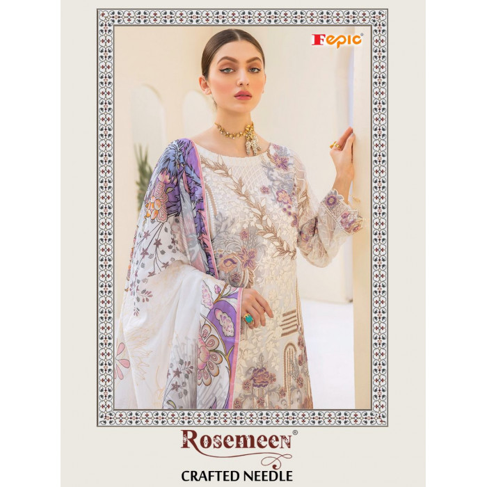 Fepic Rosemeen Crafted Needle Salwar Suits