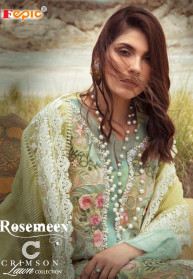 Fepic Rosemeen Crimson Lawn Collection Suits