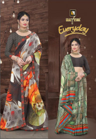 Haytee Everyday Fancy Pattern Latest Sarees