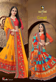 Haytee Gmail Vol 86 Dani Printed Best Sarees