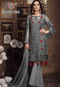 Hoor Tex Kitab Vol 4 Fox Georgette Salwar Suits