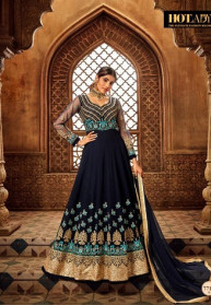 Hotlady Nairaa Pure Georgette Heavy Gowns