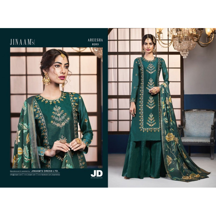 Jinaam Areesha Dolla Silk Dress Materials