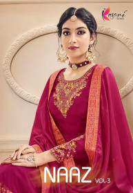 Kesari Trendz Naaz Vol 3 Georgette Salwar Suits