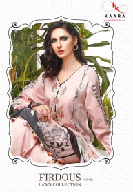 Kaara Firdous Lawn Collection Vol 3 Salwar Suits