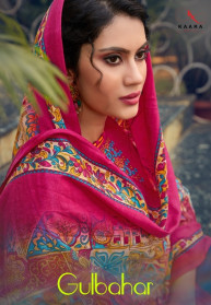 Kaara Gulbar Vol 2 Pashmina Dress Materials