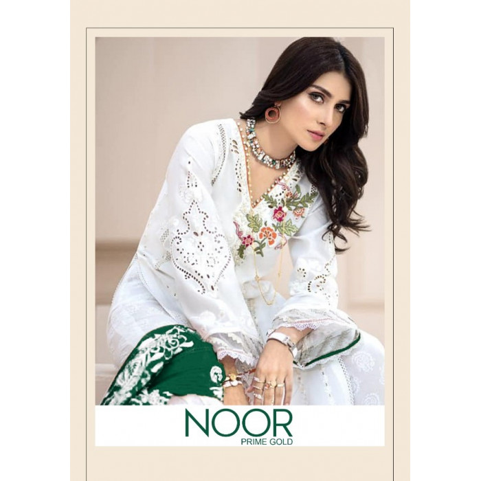 Kaara Noor Prime Gold Cotton Salwar Suits
