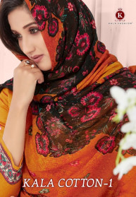 Kala Fashion Cotton Vol 1 Jam Stain Dress Materials