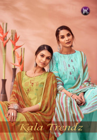 Kala Fashion Trendz Pure Lawn Dress Materials