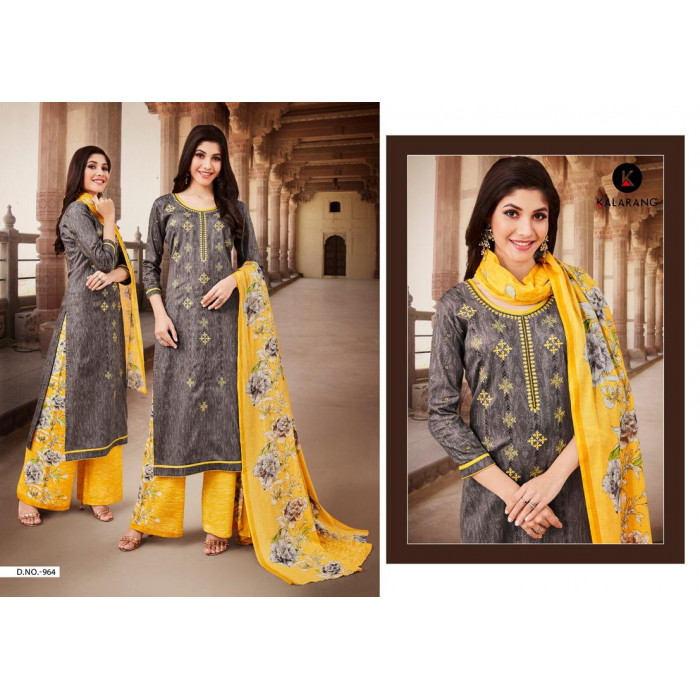 Kalarang Maira Vol 2 Satin Salwar Suits Catalog