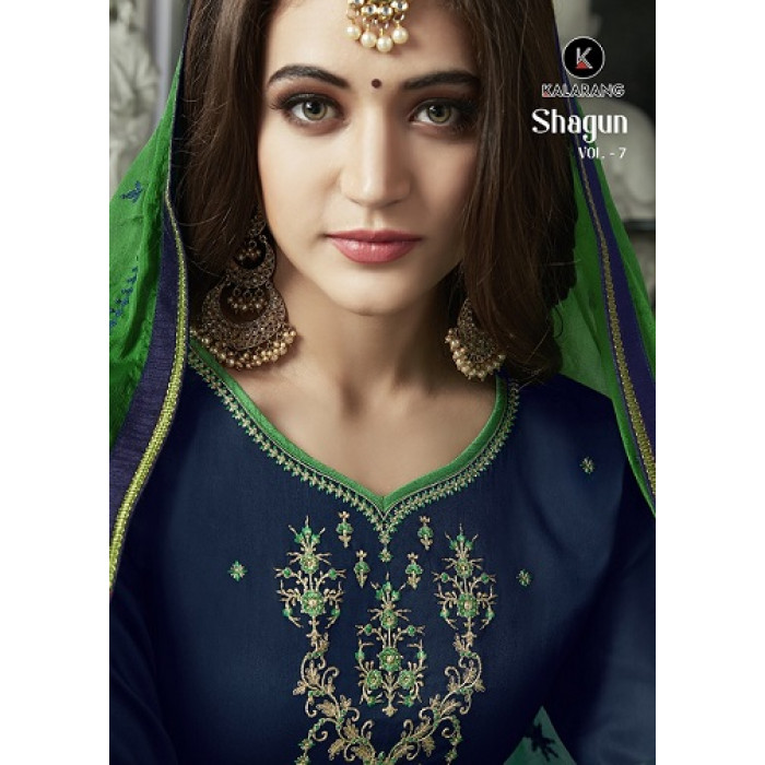 Kalarang Shagun Vol 7 Cotton Dress Materials