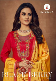 Kalarang Black Berry Vol 3 Jam Silk Salwar Suits
