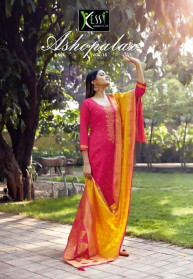 Kessi Asopalav Vol 16 Jam Silk Salwar Suits