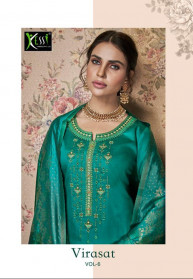 Kessi Virasat Vol 6 Jam Silk Salwar Suits