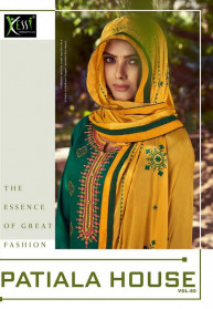 Kessi Patiyala House Vol 80 Cotton Salwar Suits