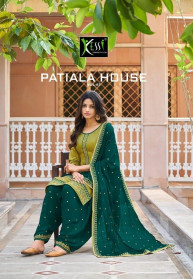 Kessi Patiala House Vol 83 Jam Silk Dress Materials