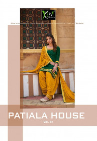 Kessi Patiyala House Vol 82 Jam Silk Salwar suits