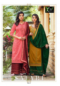 Kessi Safari Vol 3 Jam Silk Salwar Suits