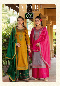 Kessi Safari Premium Jam Silk Salwar Suits