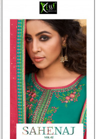 Kessi Sahenaz Vol 2 Jam Silk Latest Salwar Suits
