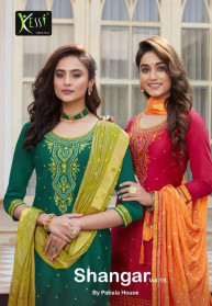 Kessi Shangar Vol 19 Jam Silk Salwar Suits