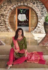 Kessi Silk By Patiala Vol4 Jam Silk Dress Materials